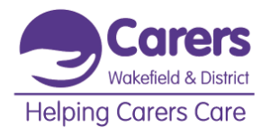 Helping carers care logo